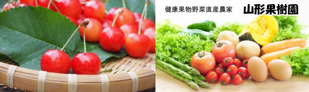 健康果物野菜直産農家の山形果樹園